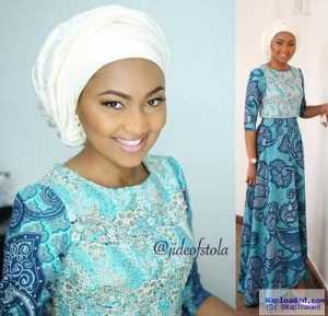Zahra Buhari gorgeous in new photos